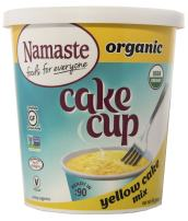 Namaste Foods Gluten Free Organic Cake Cup, Yellow, 2.43 Ounce (Pack of 12) – Allergen Free