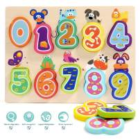 TOP Bright Puzzles Toys for 1 Year Old Girl Boy Gifts and One Year Old Girl Boy Toys for Toddlers