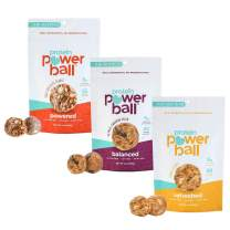 Protein Power Ball | On-the-Go Healthy Protein Snacks | Gluten Free, Dairy Free, Soy Free Snack | High Protein Energy Bites (Variety Pack, 6 Pack)