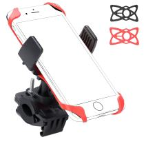 Ailun Bike Motorcycle Cell Phone Mount Holder Handlebar Rack Grip Universal for iPhone 12 12Pro 12Mini 12Pro Max and Other Smartphones iPods and MP3 Player Black