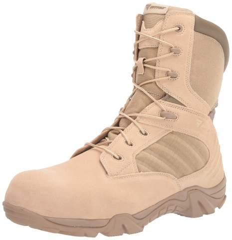 Bates Men's GX-8 Composite Toe Side Zip Work Boot