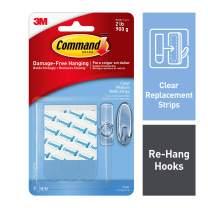 Command Refill Strips, Medium, Clear, 9-Strips (17021CLR-ES)