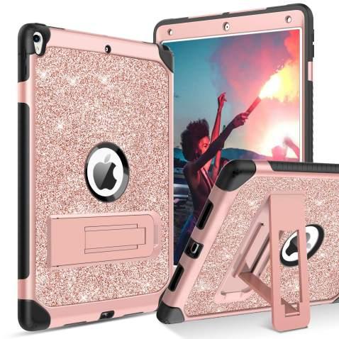 Floral Beige iPad Mini 5 iPad Air 3 iPad Pro 10.5 Pro 12.9 iPad Case 6th 5th gen iPad 2018 2019