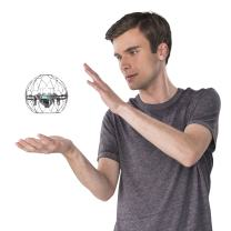 Air Hogs - Supernova Gravity Defying Hand-Controlled Flying Orb for Ages 8 and Up