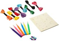 Masterpieces Works of Ahhh Mini Friendship Bracelet Small Peggable Wood Paint Kit