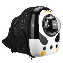TRMESIA Expandable Clear Bubble Pet Carrier Backpack, Space Capsule Pet Carrier Backpack for Cats and Dogs, Cat/Dog Carrying Backpack for Travel, Hiking, Walking & Outdoor, Lightweight and Spacious