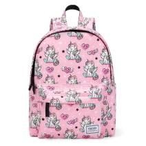 Gonex Kids Backpack Toddler Schoolbag Bookbag Preschool Backpacks Children Bag Gift for Kids Girls Kindergarten Elementary School Outing Pink Unicorn Pattern