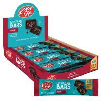 Enjoy Life Chocolate Bars, Soy free, Nut free, Gluten free, Dairy free, Non GMO, Vegan, Paleo, Dark Chocolate, 1.12 Ounce Bars (Pack of 24)