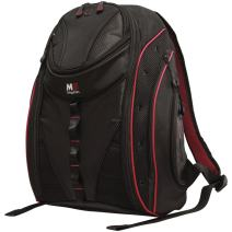 Mobile Edge Black w/Red Trim Express Laptop Backpack 2.0 16 Inch PC, 17 Inch Mac for Men, Women, Students MEBP72