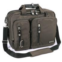 FreeBiz 15 Inches Multi-Function Laptop Briefcase Backpack with Handle and Shoulder Strap Fits Up to 15.6 Inch Laptops (15.6 Inches, Army Green)