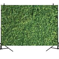 WOLADA 7x5ft Green Leaves Backdrops Microfiber Nature Leaf Backdrop Photography Birthday Background for Birthday Party Seamless Photo Booth Prop Backdrops 10923