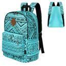 Advocator Vintage Printed Primary School Backpacks for Girls Boys Kids Backpack