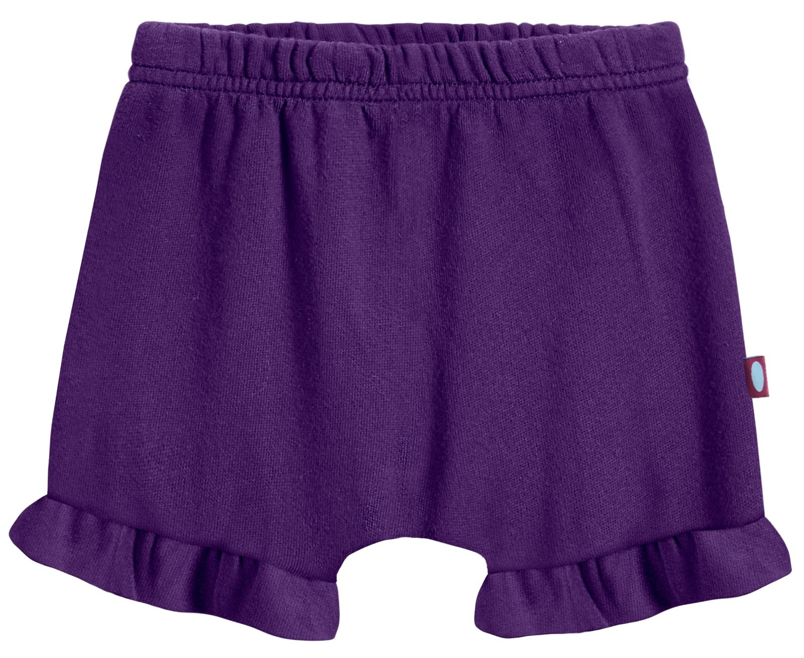 City Threads Baby Girls' and Boys' Ruffled Diaper Covers Bloomers Soft Cotton Fashionable Cute, Purple, NB
