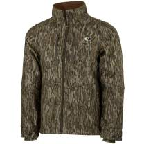 Mossy Oak Sherpa 2.0 Fleece Lined Camo Hunting Jacket for Men, Camouflage Clothes