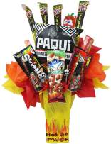 Can you stand the Heat? Challenge Accepted! This Spicy Hot AF' Jerky Snack Bouquet is where it's at, Let your tastebuds feel the heat!