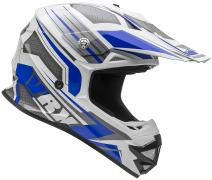 Vega Helmets VRX Advanced Off Road Motocross Dirt Bike Helmet (Blue Venom Graphic, X-Small)