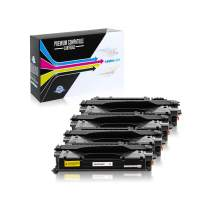 SuppliesOutlet Compatible Toner Cartridge Replacement for HP 80X / CF280X (High Yield Black,4 Pack)
