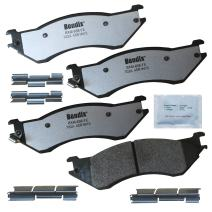 Bendix Fleet Metlok MKD702AFM Brake Pads