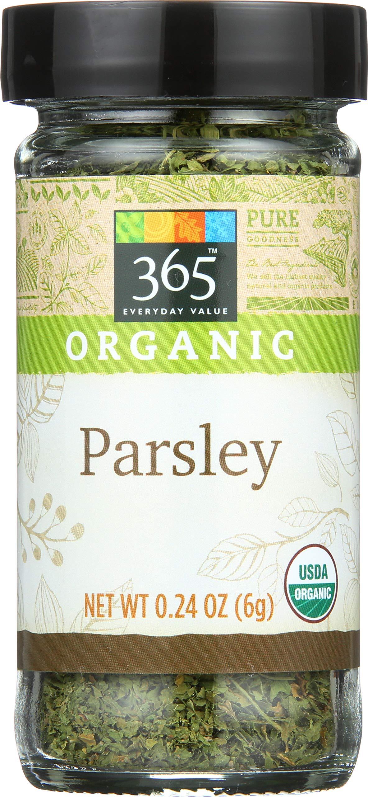 365 Everyday Value, Organic Parsley, 0.24 oz