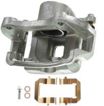 A-Premium Brake Caliper with Bracket for Buick LaCrosse Regal Chevrolet Camaro Equinox GMC Terrain Saab 9-5 2010-2017 Front Side