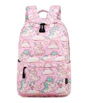 Abshoo Cute Lightweight Unicorn Backpacks Girls School Bags Kids Bookbags