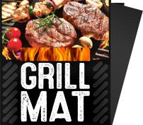 """BBQ Grill Sheets Mat ,100% Non Stick Safe ,Extra Thick,Reusable and Dishwasher safe, 3 piece of (13""""x15.75"""")"""
