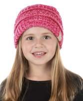 Funky Junque Exclusives Child Toddler Beanie Warm Winter Kids Knit Skull Cap Hat