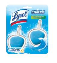 Lysol Hygienic Automatic Toilet Bowl Cleaner, Atlantic Fresh 2 ct