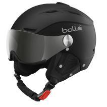 bollé BACKLINE Visor White Matte/Silver Gun 54-56cm Ski Helmet Unisex-Adult