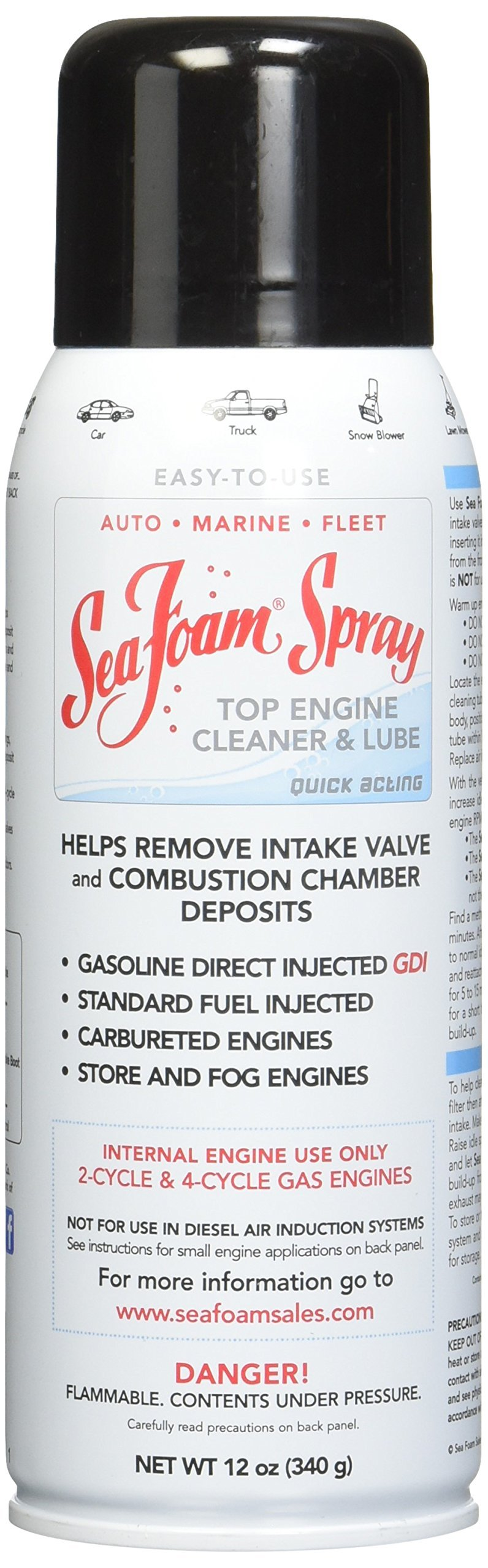 Sea Foam SS14 Spray Top Engine Cleaner and Lube, 12 oz