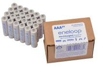 Panasonic BK-4MCA24/CA eneloop AAA 2100 Cycle Ni-MH Pre-Charged Rechargeable Batteries 24 Pack