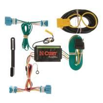 CURT 56123 Vehicle-Side Custom 4-Pin Trailer Wiring Harness for Select Honda CR-Z