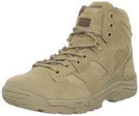 5.11 Tactical Men's Taclite 6-Inch Suede Coyote Work Boots, Odor Control Liner, Style 12030