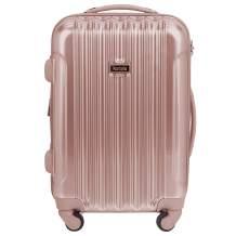 "kensie 20"" ""Alma"" Carry-On TSA-Lock Spinner Luggage, Rose Gold"
