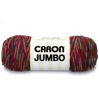 Caron Jumbo Ombre Yarn, 12 oz, Perennial Variegate, 1 Ball