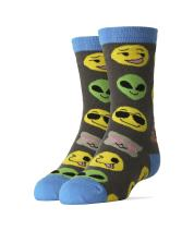 Kid's Novelty Crew Socks, Oooh Yeah Funny Crazy Silly Cool Casual Dress Socks for Boy and Girl