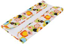 The Plush Pad Portable Changing Pad with Memory Foam, Poppy Pattern