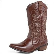 SheSole Womens Winter Western Cowgirl Cowboy Boots