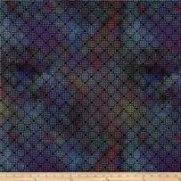 In The Beginning Fabrics Diaphanous by Jason Yenter Trellis Fabric, 1, Mulberry, Fabric by the Yard