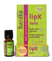 Baraka LipX Survival - Fast Acting Organic All Natural Cold Sore Remedy and Fever Blister Relief for Daily Use with Essential Oils