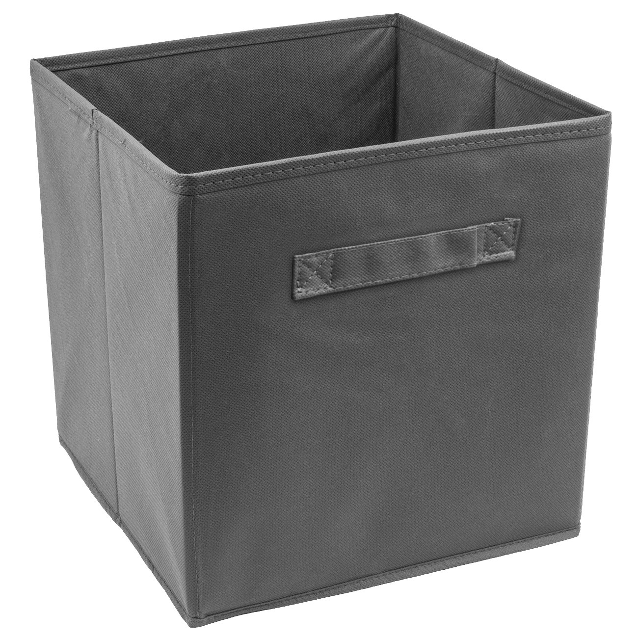 Sorbus Foldable Storage Cube Basket Bin (1 Pack, Grey)