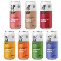 Better Booch Kombucha Organic 12 Pack – Variety Pack (16oz. ea) - Shipped Cold - Probiotic and Antioxidant Rich