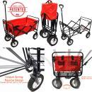 WonderFold Outdoor New Generation Collapsible Wagon Utility Folding Cart