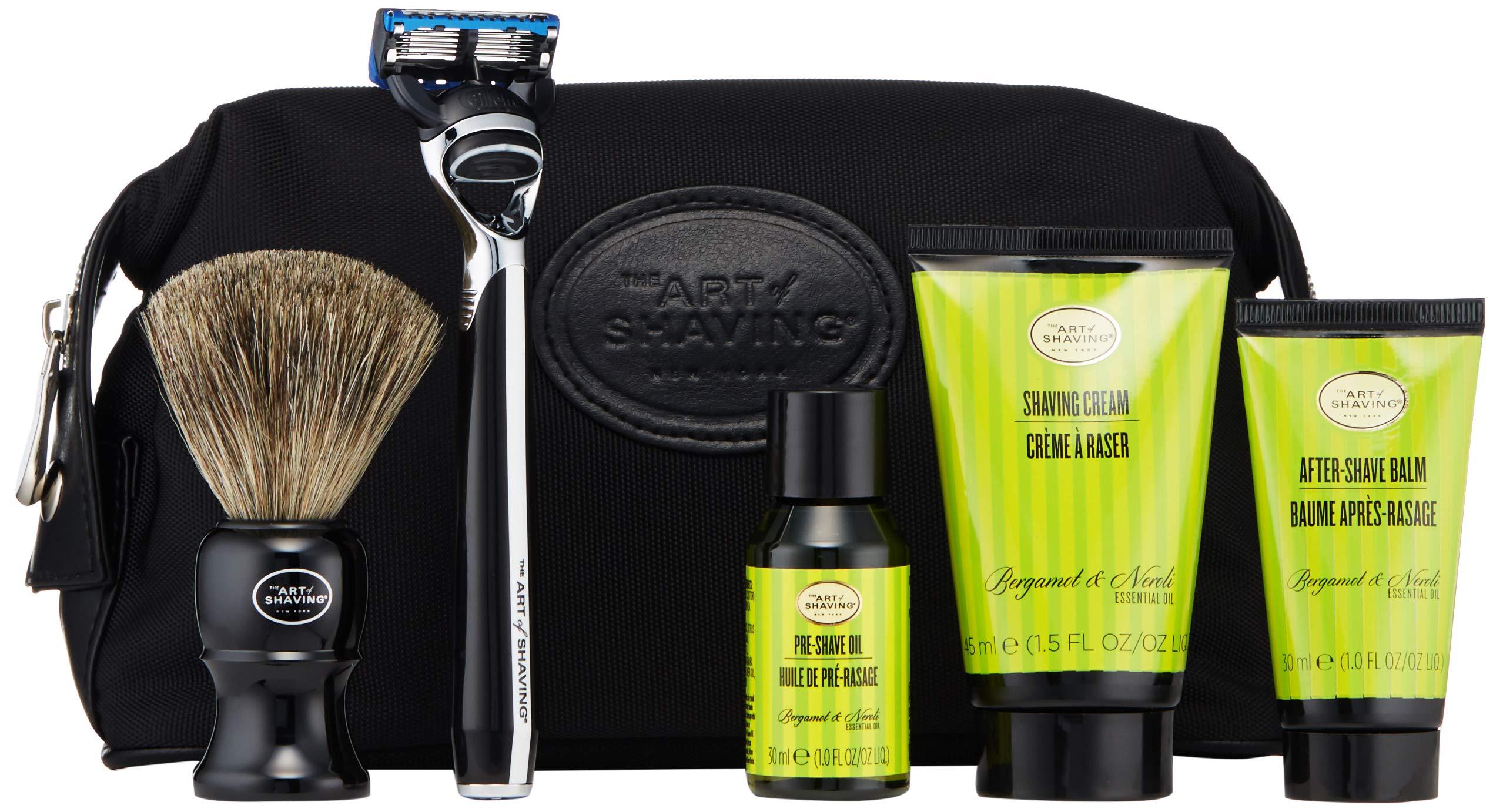 The Art Of Shaving Travel Kit, Bergamot & Neroli