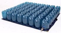 Kolbs Cushions Air Cell Wheelchair Seat Cushion, Low Cell, 16 by 16 Inch