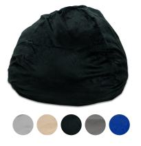 Pillowtex Quality Kids Memory Foam Bean Bag Chair - 3ft Bags with Removable Washable Cover