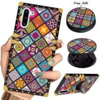 Luxury Square Phone Case iPhone 11 6.1 Inch 2019 Retro Retro Flower Elegant Soft TPU Design Cover