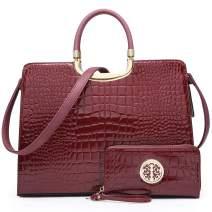 MARCO M KELLY Purses and Handbags for Women Designer Tote Top Handle Satchel Shoulder Bags with Wallet Ladies