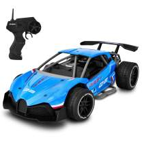 1/16 Fast Electric RC Racing Cars with Metal Body Panels 2.4GHz Radio Controller High Speed Race Car Off Road RC Drift Car Vehicle Remote Control Cars for Kids
