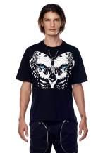 Jonny Cota Studio Leopard Wings Print T-Shirt, Men's and Women's